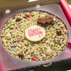Gamers Happy Birthday Chocolate Pizza