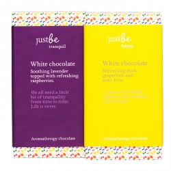 White Aromatherapy Chocolate Collection