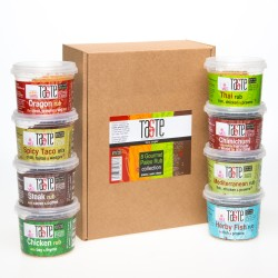 Gourmet Paleo 8 Rub Collection Gift Box