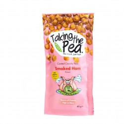 Smoked Ham Crunchy Pea Snacks - 12 pack