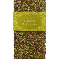 Candied Fennel Seed Dark Chocolate Bar