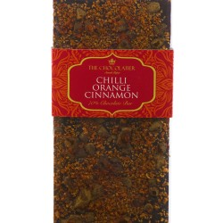 Chilli Orange & Cinnamon Dark Chocolate Bar
