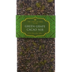Green Grape & Cacao Nib Dark Chocolate Bar