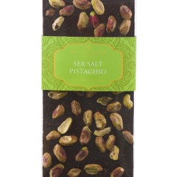 Salt & Pistachio 70% Dark Chocolate Bar