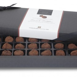 Superior Selection, 24 French Chocolate Truffles, Chocolate Gift Box