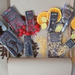 Multi Pack Big and Mini Slab Selection Box | 560g Dairy Free Vegan