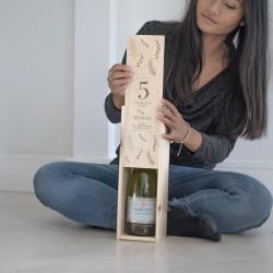 Five Wonderful Years Wine Box