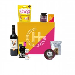 "Traditional Cheese & Wine Gift Box Hamper "" | 'Belt & Braces'"