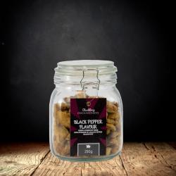 Black Pepper Scratchings Gift Jar (250g)