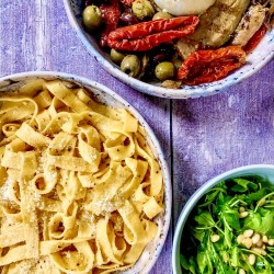 Date Night Meal Kit for 2 - Tagliatelle with White Truffle Butter