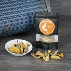 Cod Fish Crackling Chips with Curry