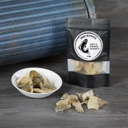 Dried Cod Fish Crackling Chips with Salt & Pepper