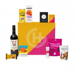Luxury Champagne Truffles & Wine Snacks Hamper | 'Colour Me happy'