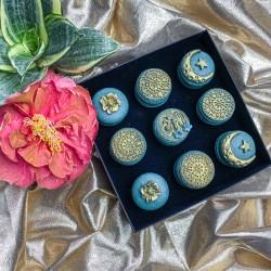 Ramadan Macarons (Box of 9)