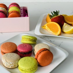 Vegan Macaron Summer Collection | 12 Macarons