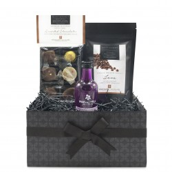 Milk Chocolates & Rhubarb Gin Mini Gift Hamper