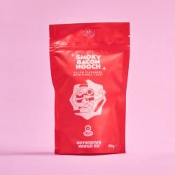 Nutritional Yeast Flakes - Smoky Bacon Flavour | Gluten Free Vegan Nooch | Non GMO 100g