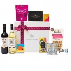 Gluten Free Wine & Gourmet Snacks Hamper | 'Sweet Caroline'