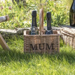 Personalised Two Bottle Carrier