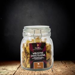 Worcester Sauce Scratchings Gift Jar (250g)