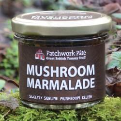 Mushroom Marmalade Jar
