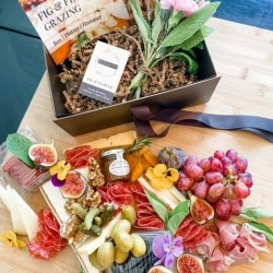 Grazing Hamper - Cheese and Charcuterie