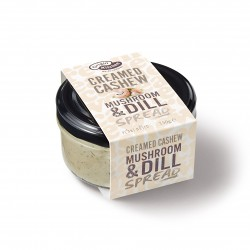 Creamed Cashew Mushroom & Dill Spread | (Pack of 3)
