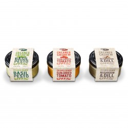 Creamed Cashew Spread | Selection Box (Pack of 3)