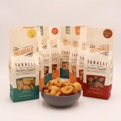 Italian 'Taralli' Traditional Savoury Snack Trio Pack