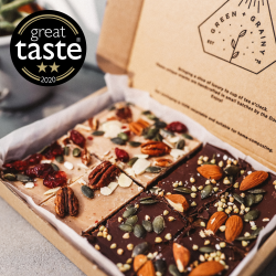 Sweet Selection Box of Raw Cakes (4, 8 or 16 slices)