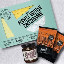 Butlers Farmhouse Cheeses Perfect British Cheeseboard, Letterbox Gift