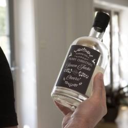 Personalised Merry Christmas Botanical Gin