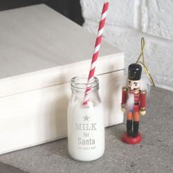 Personalised 'Santa's Milk' Bottle