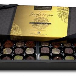 Superior Selection, 24 Single Origin Chocolate Ganaches Gift Box