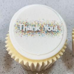 Starburst Thank You Cupcakes