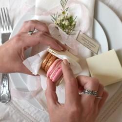 Bespoke Macaron Wedding Favour Box