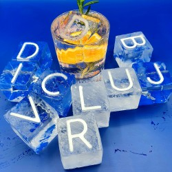 Icebox Ice Cubes - Personalized Ice Cubes (Box of 20)