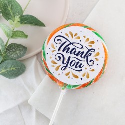 'Thank you' Burst Giant Lollipop