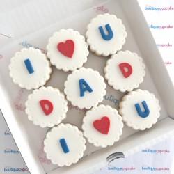 Love You Dad Biscuit Creams