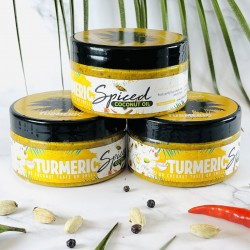 Turmeric Spiced Coconut Cooking Oil - North African Flavours