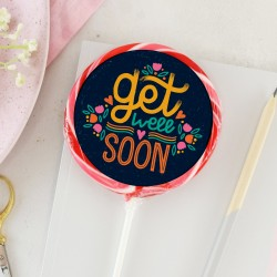'Get Well Soon' Colourful Giant Lollipop