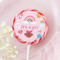'It's A Girl' Giant Lollipop