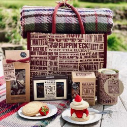 Large Picnic Bag of Baked Treats and Blanket