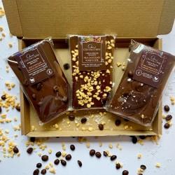 Rice Milk Chocolate Slab Selection | 290g Dairy Free Vegan