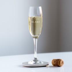 Mrs… Champagne Glass