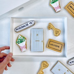 New Home Letterbox Cookies (Customisable)