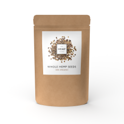 Organic Whole Hemp Seeds (350g)