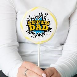 'Super Dad' Giant Lollipop