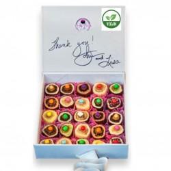 25 Piece Vegan Treat Selection Gift Box