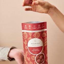 Organic Red Velvet Macaroons